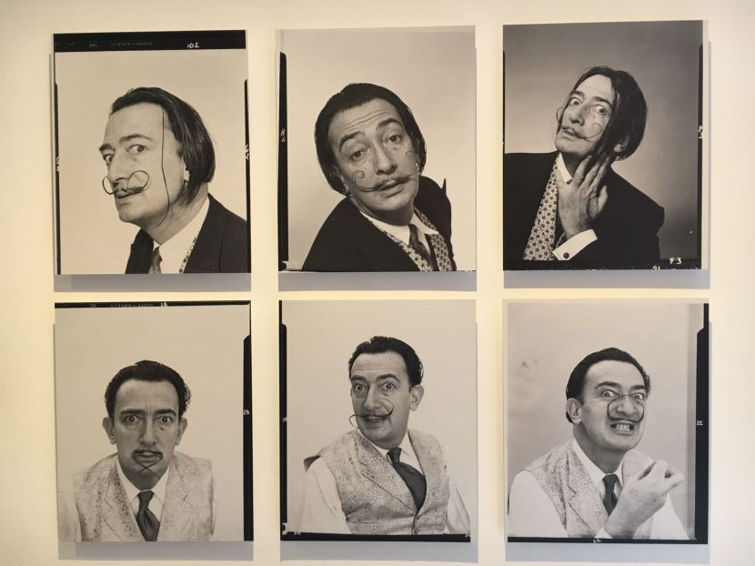 Dalí y su bigote.